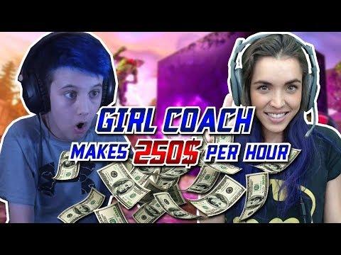This Fortnite Coach Makes $250/hr as a Girl... thumbnail