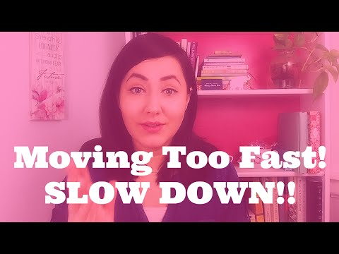 dating taking it slow