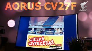 Recenzja AORUS CV27F. 165-hercowy monitor dla graczy
