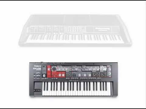 Moog Polymoog vs Roland SH-201