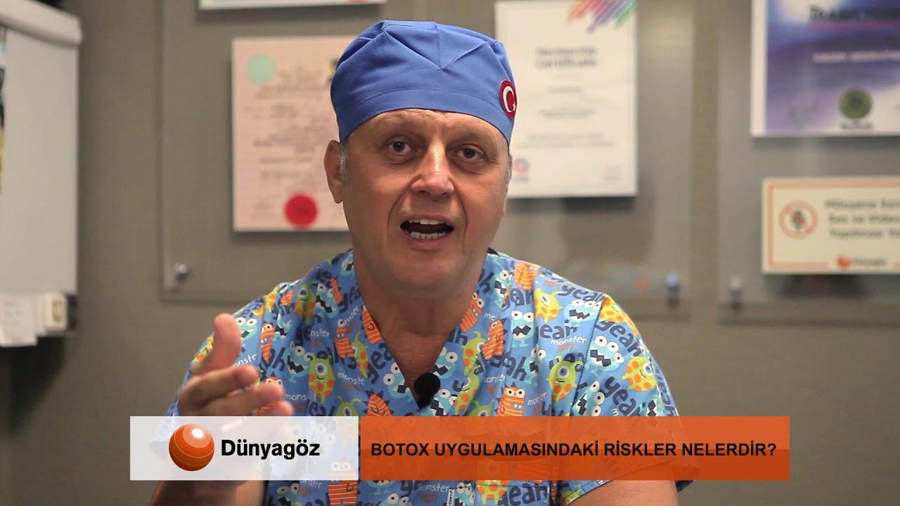 Botox Nedir? Nerelerde Kullanılır? Kimler Tarafından yapılmalıdır? Doç. Dr. Levent Akçay
