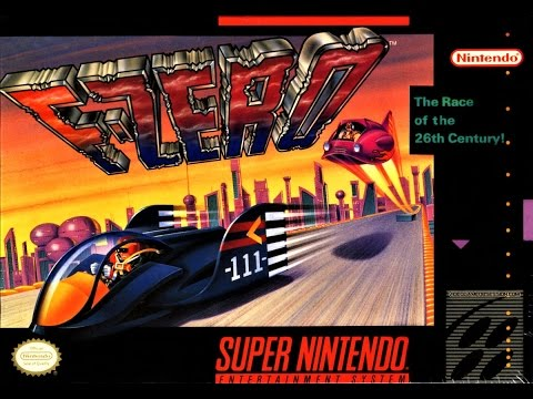 (EPISODE 1,405) RETRO GAMING: LET'S PLAY F-ZERO SUPER NINTENDO (NES MINI) PIXEL PERFECT