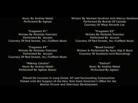 Sinister Soundtrack Christopher Young End Credits Youtube