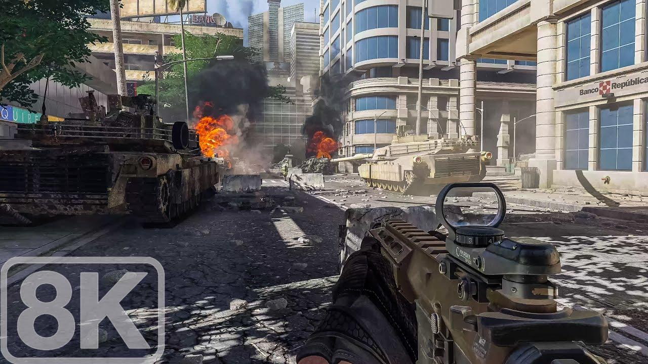 Caracas, Venezuela (Ghosts Assassination Operation) Call of Duty Ghosts - 8K