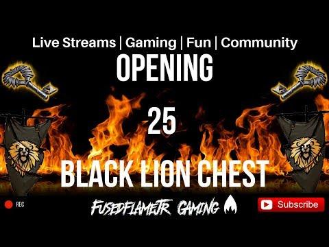 Guild Wars 2 Opening 25 Black Lion Chest!