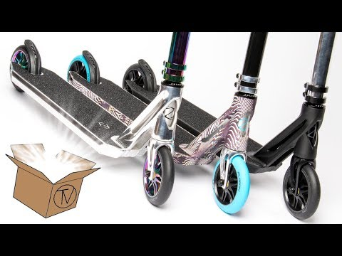 Fuzion Z375 Complete - Unboxing and Overview │ The Vault Pro Scooters