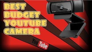 Logitech C920 HD Pro Webcam Review and Test (Best Budget YouTube Camera )