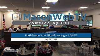 North Mason School Board July 19, 2018