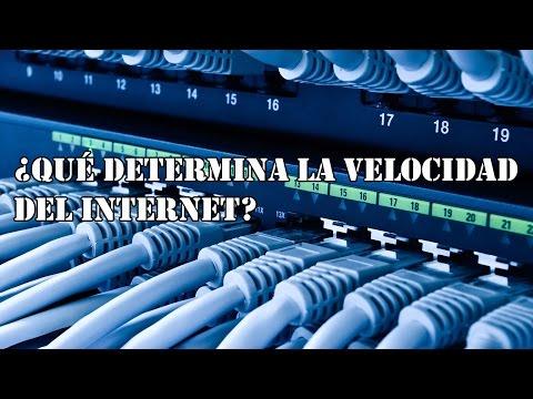 ¿Qué determina la velocidad del internet? - Hey Arnoldo