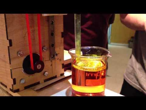 DIY DLP Resin Printer in Action 3