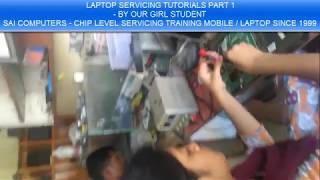 LAPTOP CHIP LEVEL BY OUR GIRL STUDENT PART 1 IN TAMIL