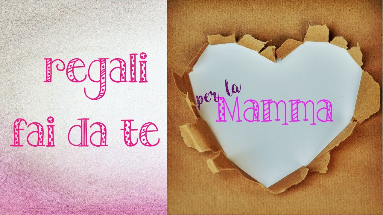 Regali Di Natale Fai Da Te Personalizzati.Gifts Diy For Mom Gift Ideas Economic And Easy To Make