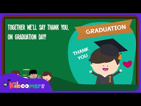 Thank You Teachers Song for Kids   Kindergarten Graduation Songs for Children   The Kiboomers