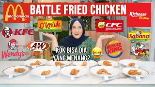 TASYI MUKBANG ARTIS AYAM FRIED CHICKEN