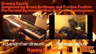 DK 64 - Creepy Castle Piano and Violin duet!