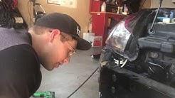 Light Bar Install on my drift 350z
