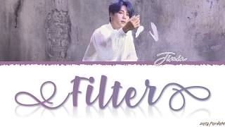Gambar cover BTS JIMIN - 'FILTER' Lyrics [Color Coded_Han_Rom_Eng]