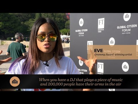 Eve interview: Global Citizen Forum 2017