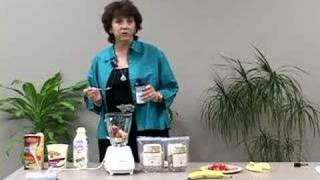 Making a Meal Replacement Shake