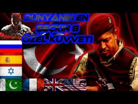 Dünyanın En Seçkin 8 Özel Kuvveti !