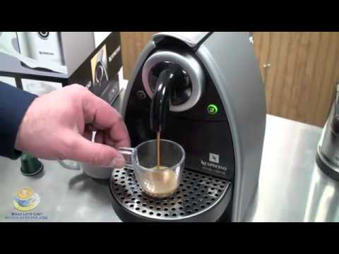 showing everyone the information about nespresso essenza - youtube