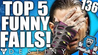Destiny: Top 5 Funny Fails Of The Week / Episode 136