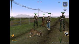 GAMEPLAY DEER HUNTER 2005 JOGO TOP DE CAÇA ANIMAIS NA FLORESTA