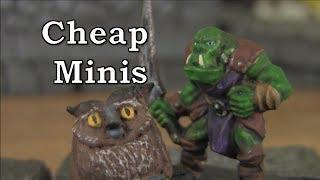 Quest for Cheap Miniatures on the Web #1 - EM4 Miniatures (Size comparisons)