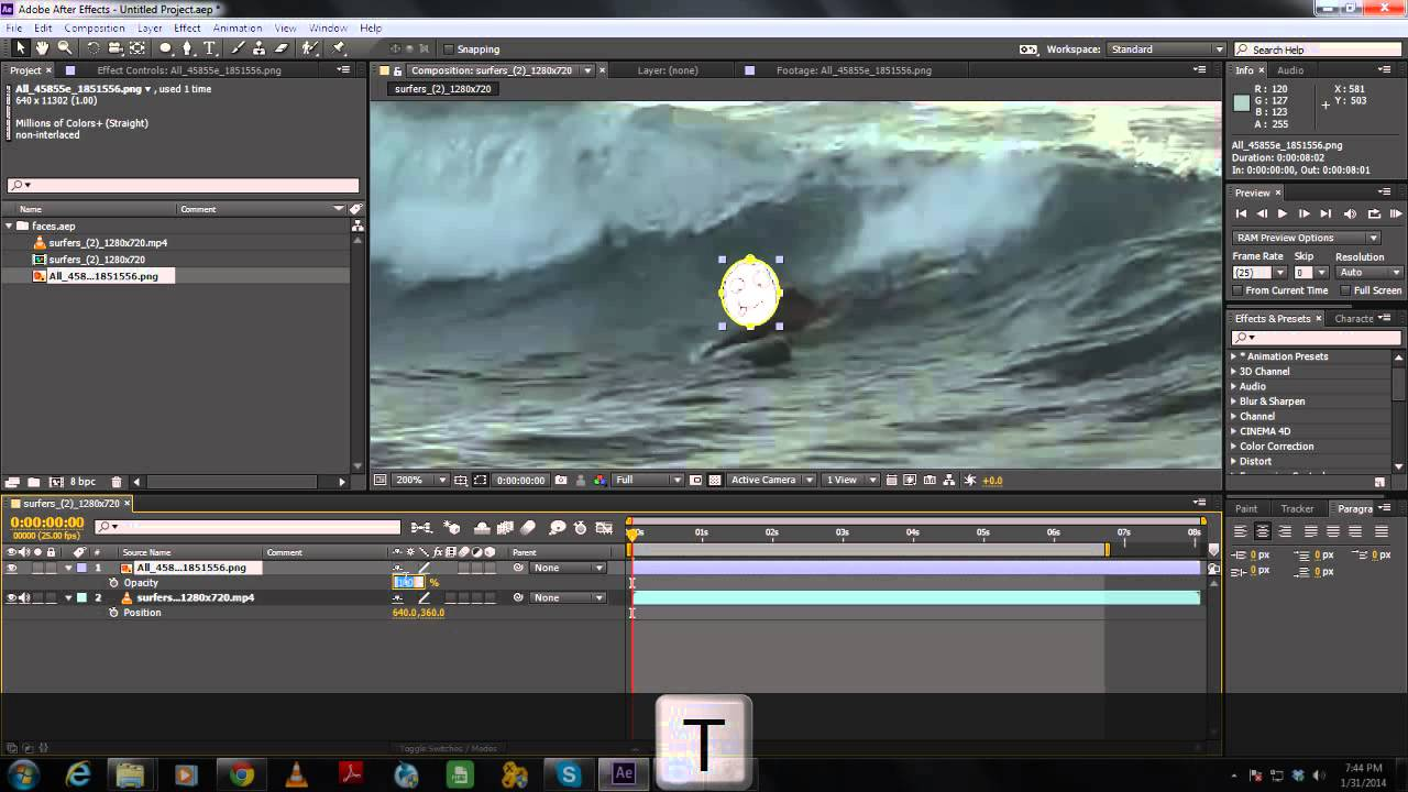 Video editing face change software