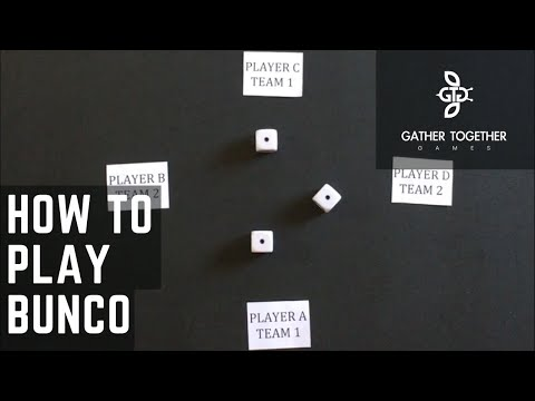how to play bunco game