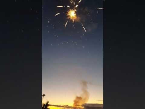 Fiji fireworks on Diwali