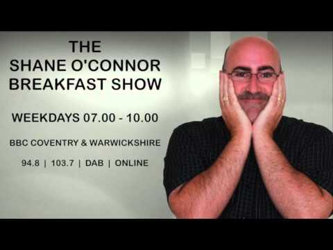 Shane talks to actor Sir John Standing