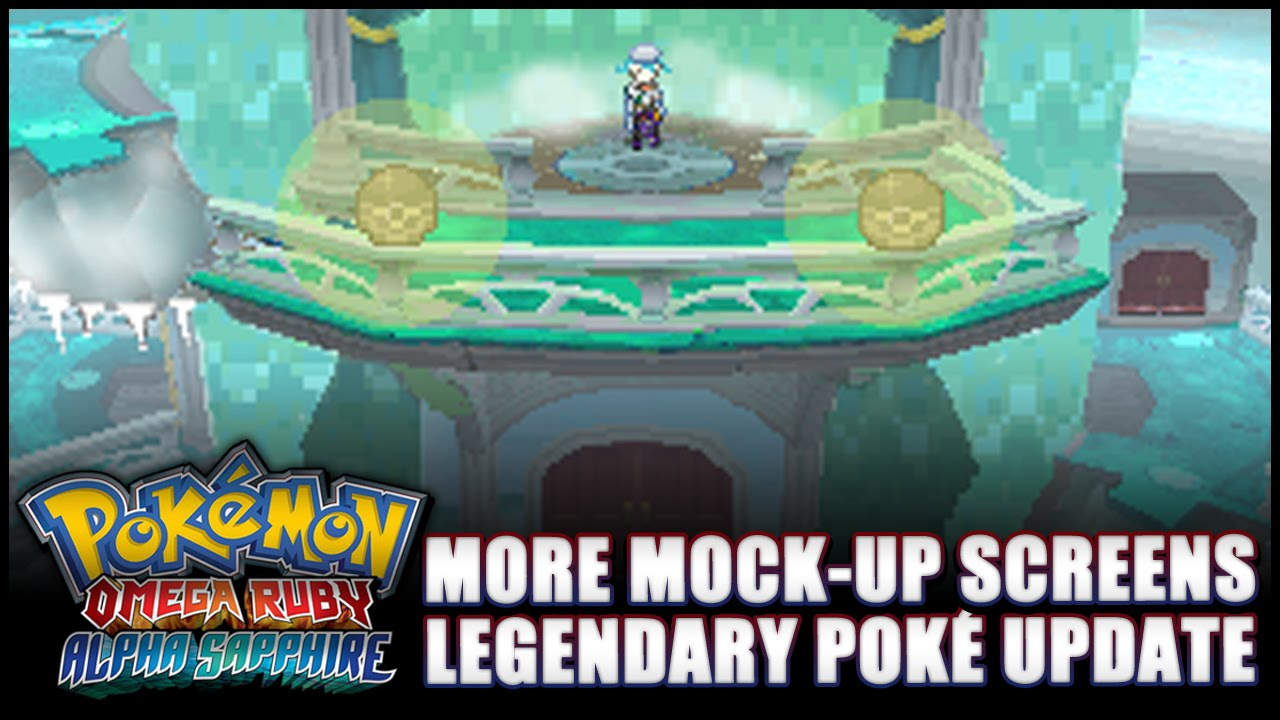 Pok 233 Mon Omega Ruby And Alpha Sapphire News Legendary