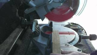 Craftsman Compound Mitre Saw (10in) Double Insulated