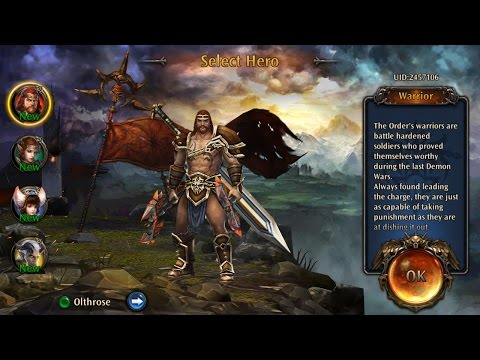 Eternity Warriors 4 3D RPG OFFLINE Android & IOS GAmeplay 2017 New Heroes | Multiplayer Also