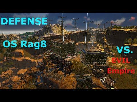 Ark Survival Evolved Official: Server Rag8 Defense Vs. Evil Empire