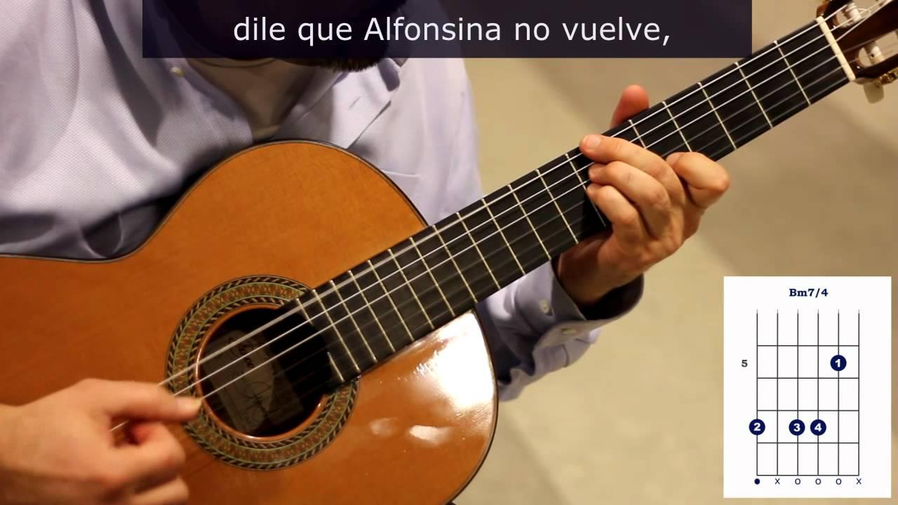 """como tocar """"Alfonsina y el mar"""" versión propia - YouTube"""