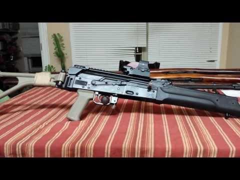 UTG AK 47 top rail review