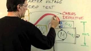 Starter Voltage Drop