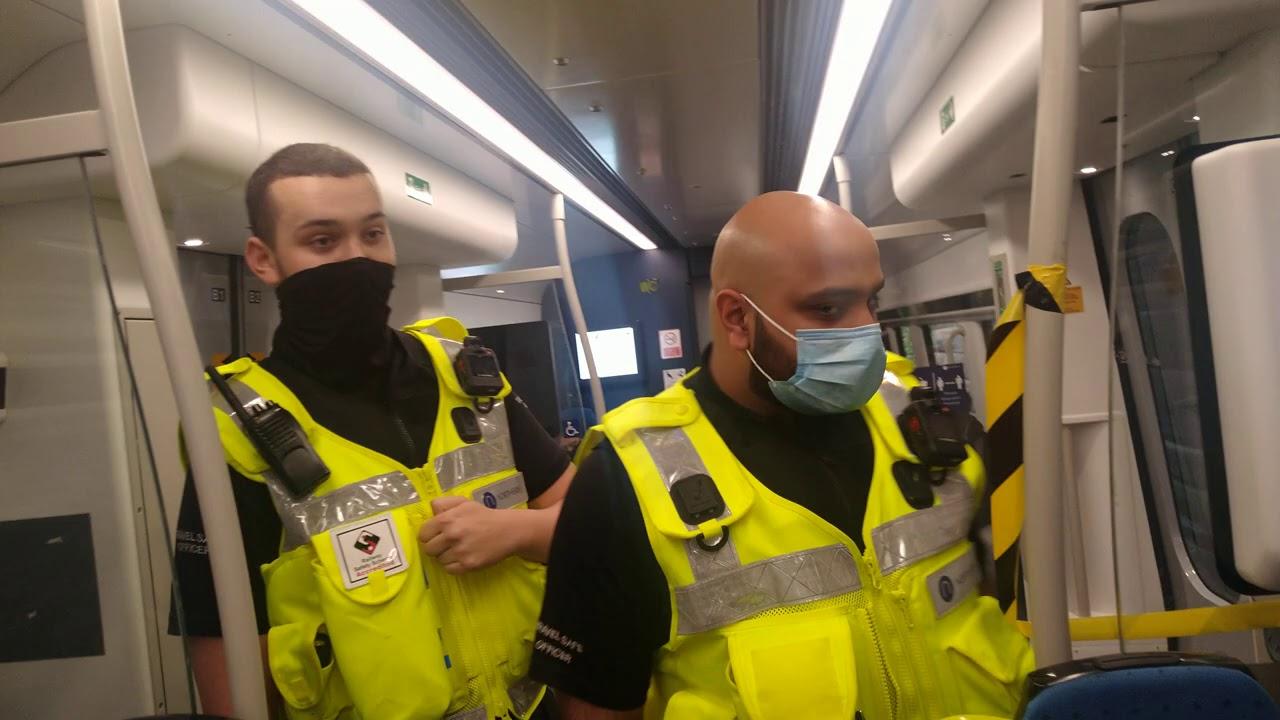Big Man Security throws mask at Live Free!, Muppet