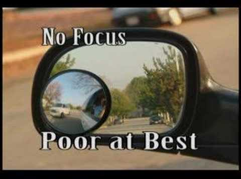 Worlds Best Blind Spot Safety Mirror Maxi View Youtube