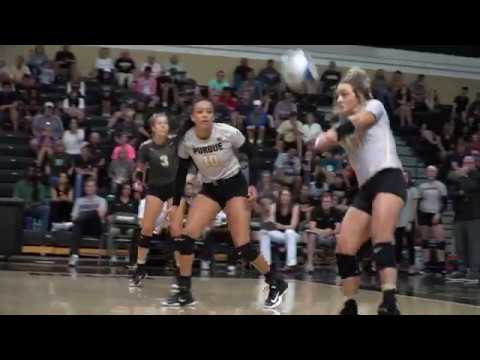 Purdue Volleyball Commercial (@Football vs. Ohio)