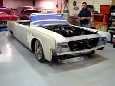 1963 lincoln continental convertible air bag suspension youtube. Black Bedroom Furniture Sets. Home Design Ideas