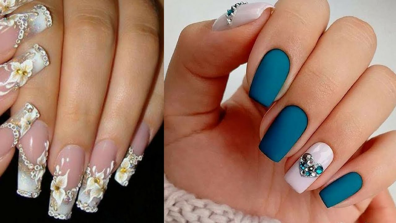 Trendy Nail Art Designs For Short Nails to Make You Shine ...