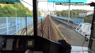 神戸電鉄 南ウッディタウン-フラワータウン 前面展望