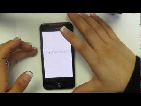Hard Reset HTC Incredible ADR-6300 Verizon