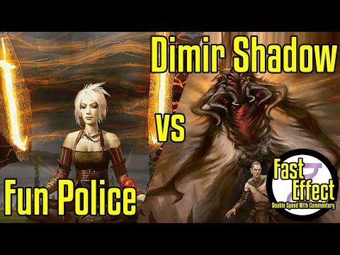 Fun Police Vs Dimir Shadow | Legacy Magic: The Gathering W/Commentary | Brainstorm MTG | Fast Effect