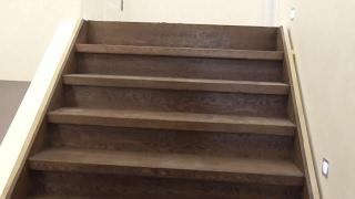 видео Лестницы из дуба