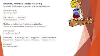 Венгерский язык (Что я делаю в свободное время  1. часть)