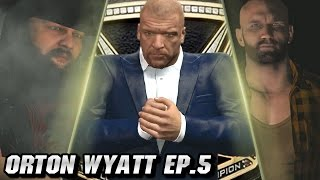 "WWE 2K16 - The Wyatt Revolution ""BETRAYAL & THEFT"" (Episode 5) [Randy Orton Joins The Wyatts]"